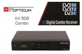 Opticum HD AX 502 Combo CX CI+