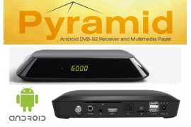 Opticum Pyramid Android 4.4.2 DVB-S2, Kodi