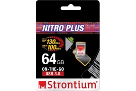 Pendrive STRONTIUM USB 3.0 64GB On-The-Go USB/microUSB