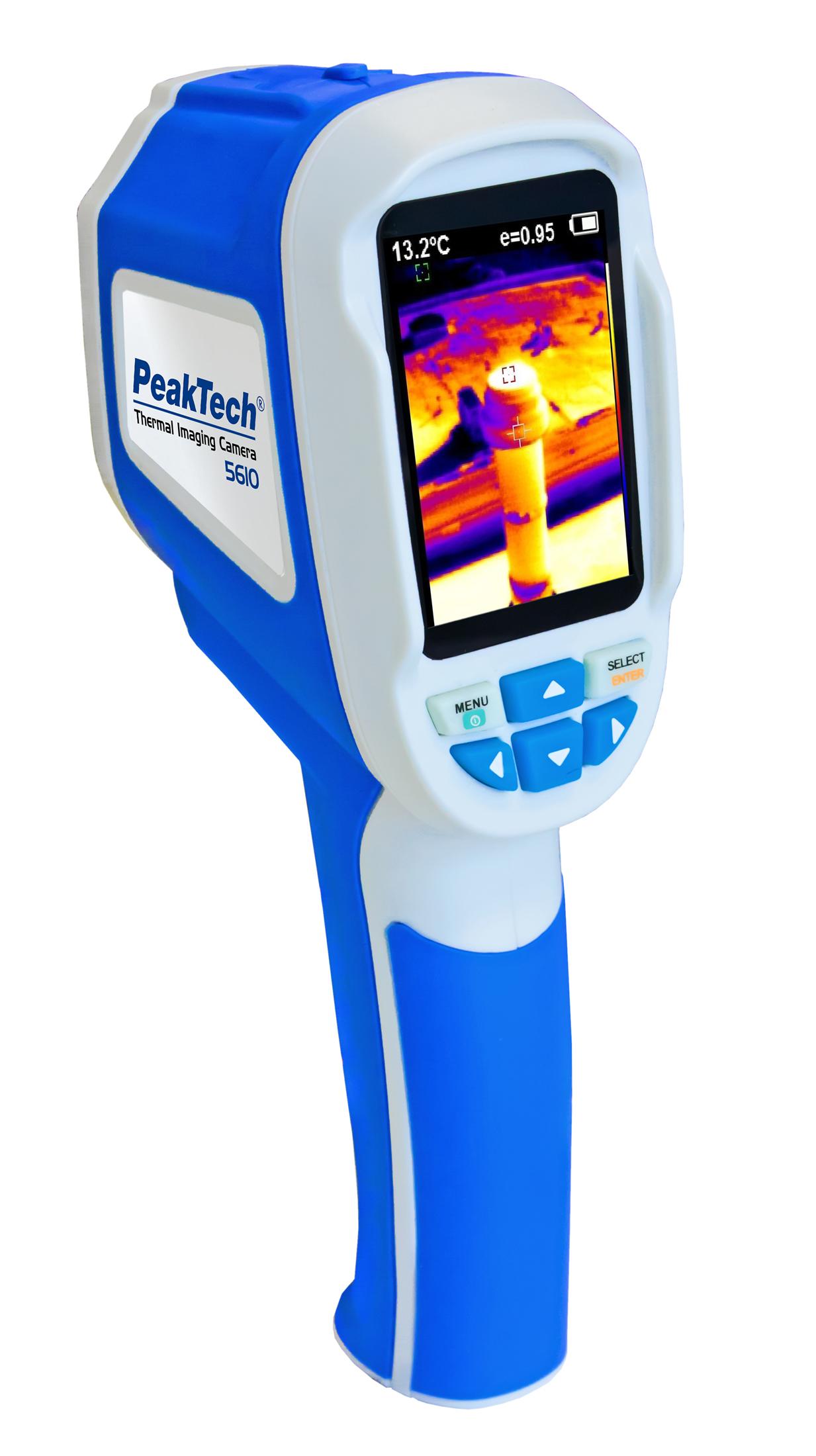 Pirometr i kamera termowizyjna PeakTech 5610