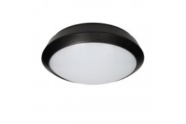 Plafon BRYZA ECO LED, czarny, PC, IP66