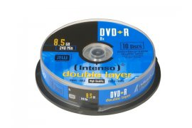 Płyty DVD+R INTENSO 8,5GB double layer (10 Cake)
