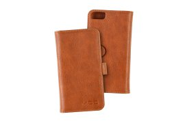 Portfel + etui na telefon MOC Velcro Wallet na iPhone 6/7/8 Brown