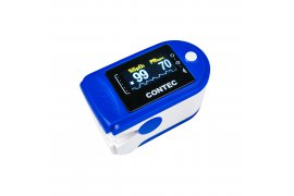 Pulsoksymetr Napalcowy medyczny Oximeter OLED Contec CMS50D