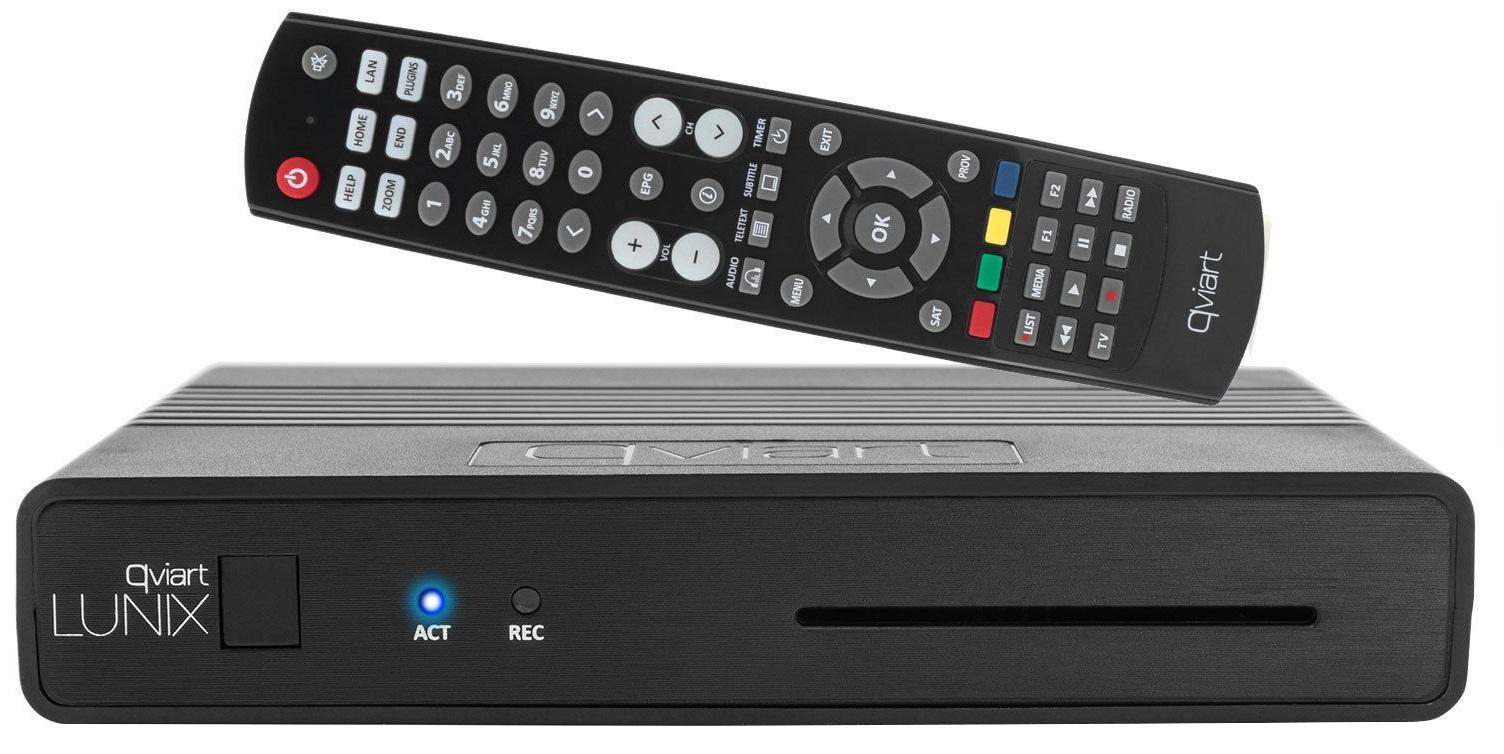 Qviart LUNIX DVB-S2 H 265 Enigma2 Open ATV (VU+ Zero)