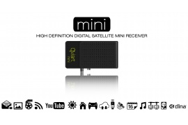 Qviart MINI DVB-S2 IPTV & Multimedia