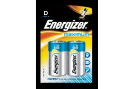 R20 bateria ENERGIZER Maximum D  /2szt/