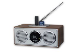 Radio Box & Audio Player BEST UR1 drewniany