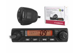 Radio CB ALBRECHT AE-6110 mini AM/FM/ASQ.