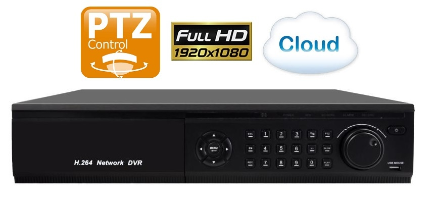 Rejestrator Spacetronik IP NVR CLOUD 16CH SP-NVR916S