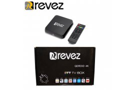 Revez QDROID 4K Android Box Ultra HD WIFI