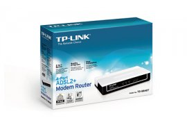 Router/Switch TP-LINK ADSL2+ TD-8840T 100Mb/s