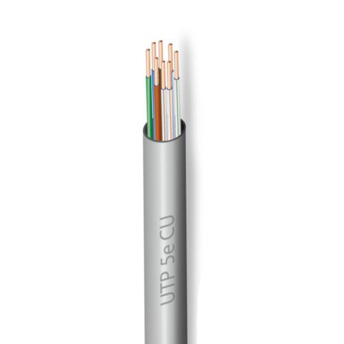 Kabel skrętka U/UTP 5e CU miedziowany