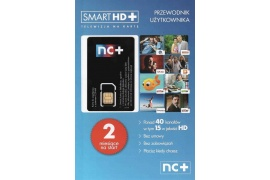Smart HD+ karta startowa 2 m-ce