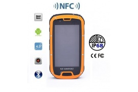 Smartfon Spacetronik SURVIVAL SRNFC-09 NFC orange