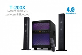 System Audio 2.1 F&D T-200X Bluetooth NFC FM