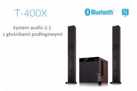 System Audio 2.1 F&D T-400X Bluetooth NFC FM