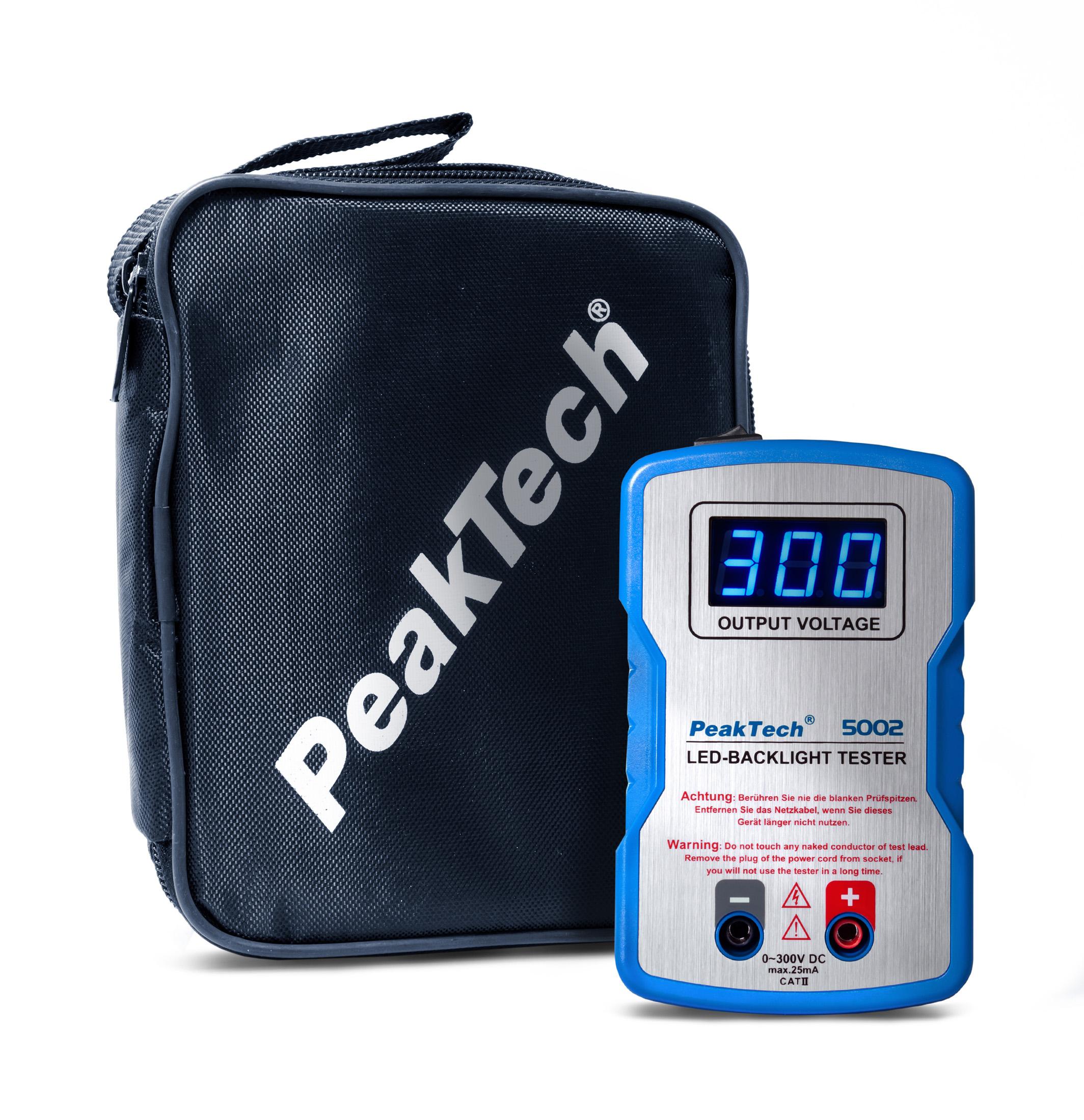 miernik led peaktech 5002