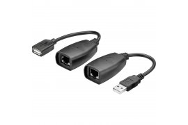 USB Extender CAT 5/5a/6 USB/LAN 1.1 GOOBAY do 40m