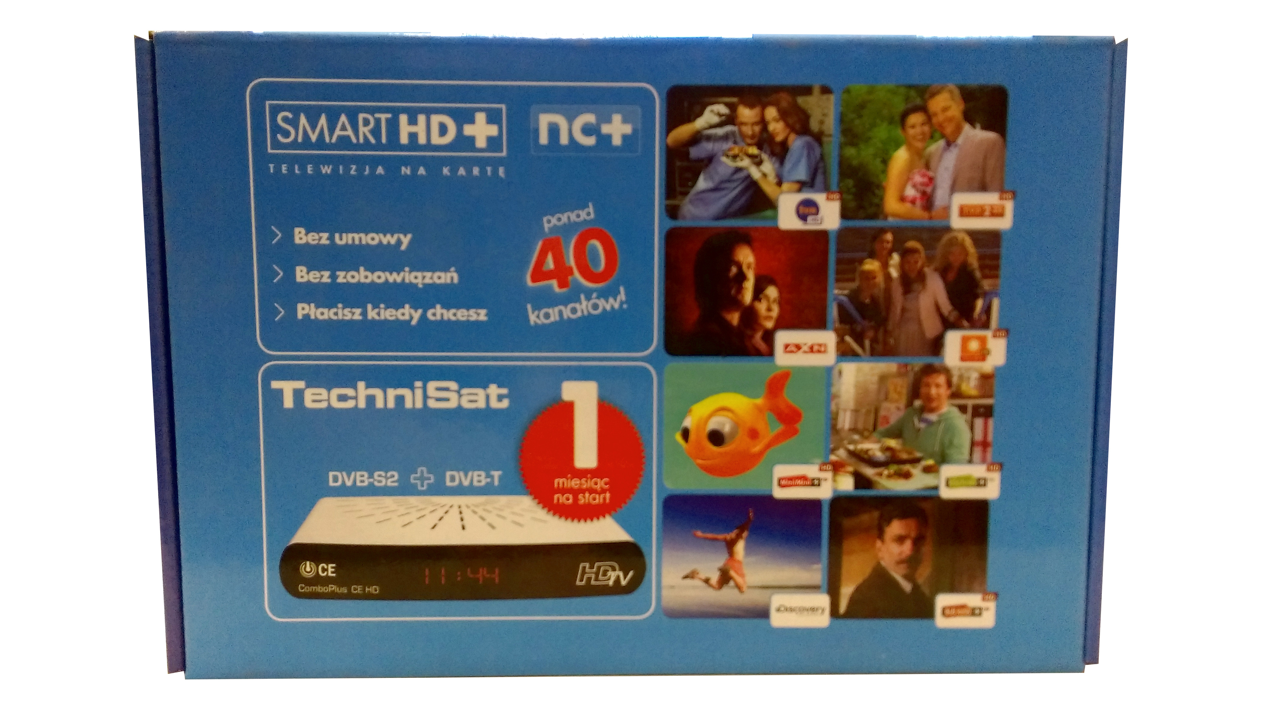Technisat ComboPlus CE HD + SmartHD 1mc