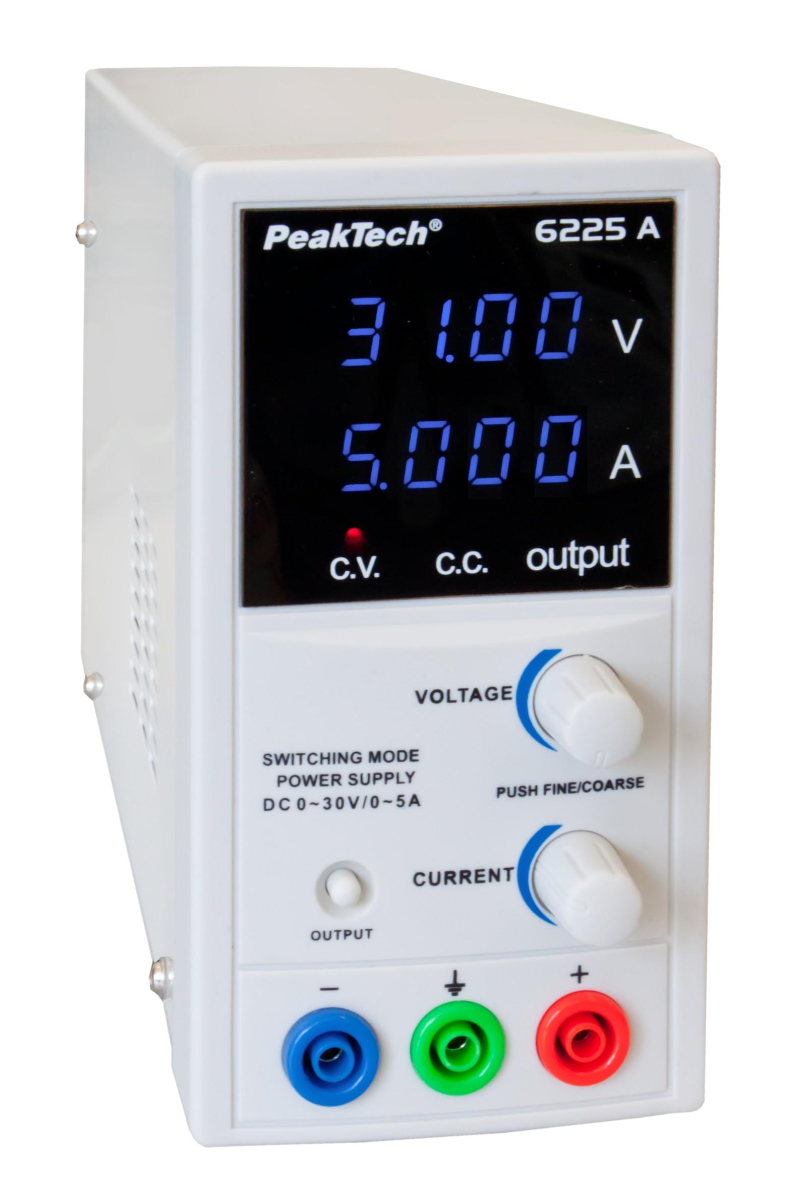 Zasilacz laboratoryjny Peaktech 6225A