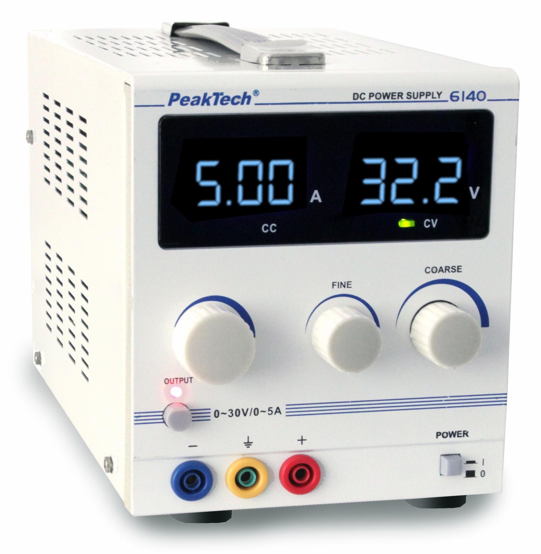 Zasilacz laboratoryjny Peaktech 6140