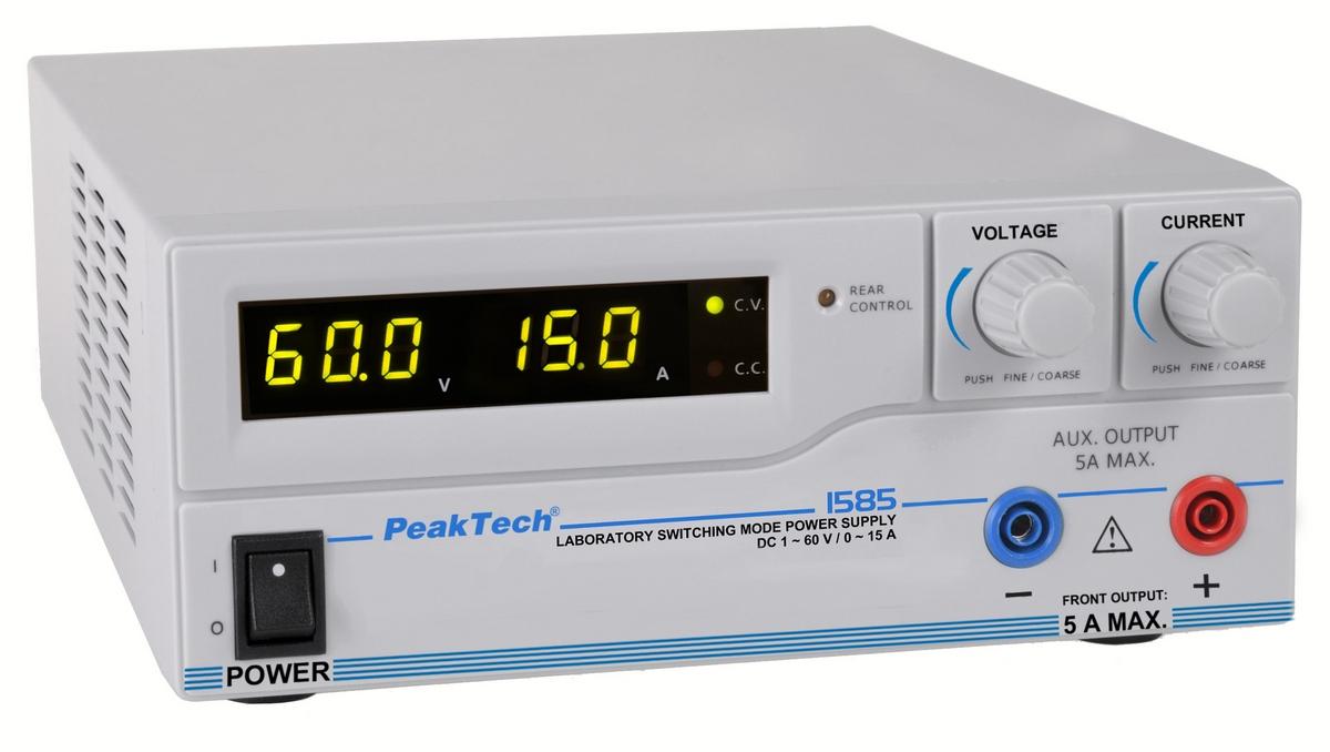 Zasilacz laboratoryjny Peaktech 1585