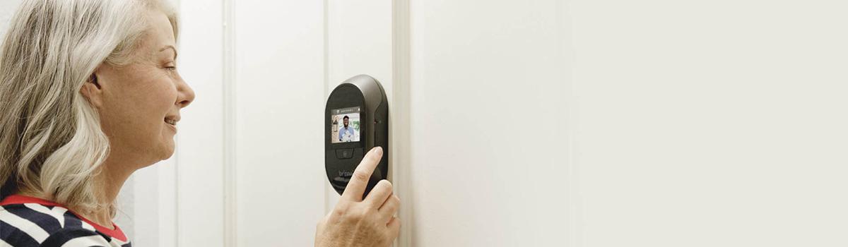Elektroniczny wizjer do drzwi