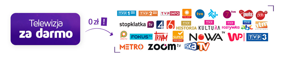 Telewizja za darmo, darmowa telewizja