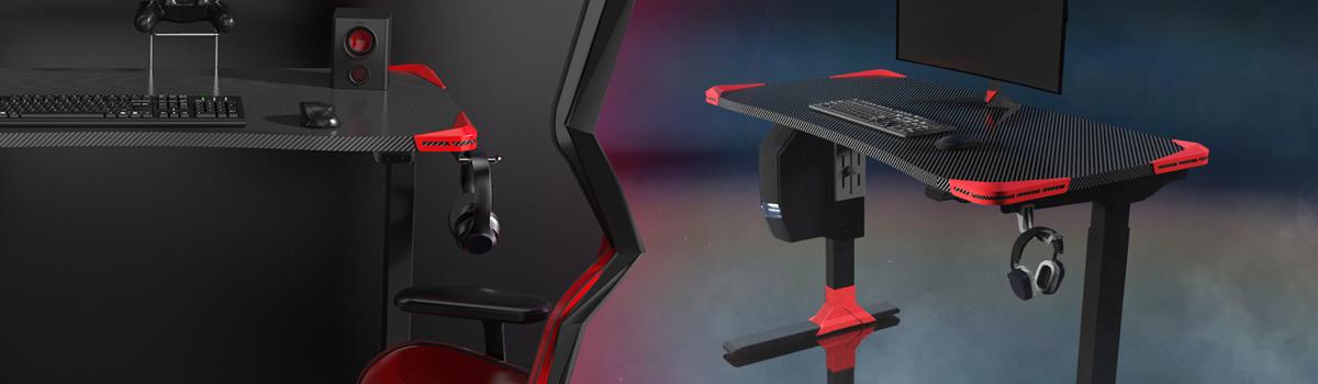 elektryczne biurko dla gracza Spacetronik