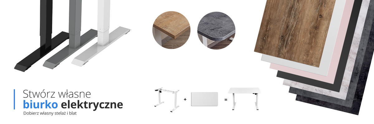 Moris Flex konfigurator biurka elektrycznego