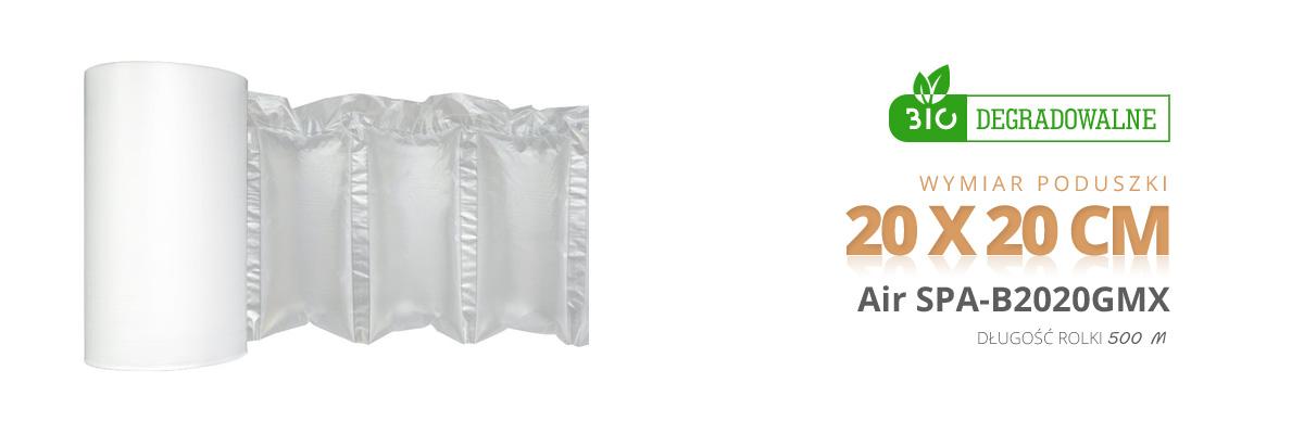 Poduszki powietrzne biodegradowalne Spacetronik air 20*20 cm bio