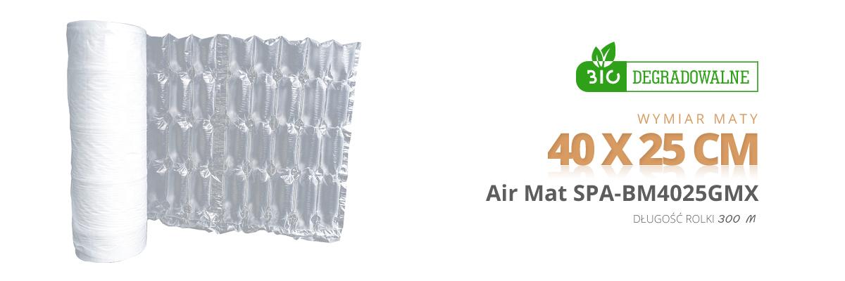 maty powietrzne biodegradowalne Spacetronik air 40 x 25 cm bio