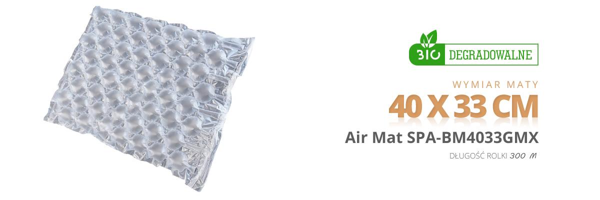 maty powietrzne biodegradowalne Spacetronik air 40 x 33 cm bio