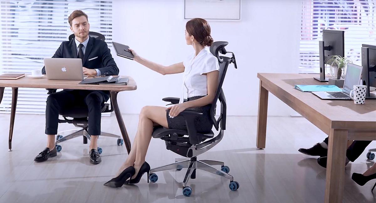 Komfortowe ergonomiczne krzesło Megrez