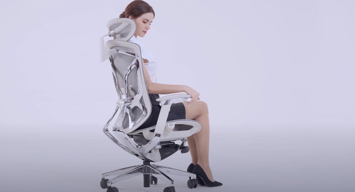 Komfortowe ergonomiczne krzesło Menkar