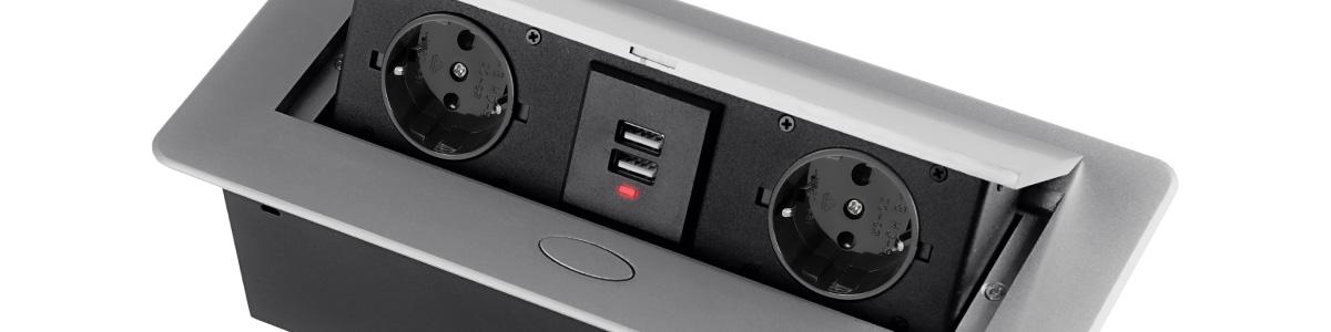 Ładowarka USB Spacetronik Ergoline