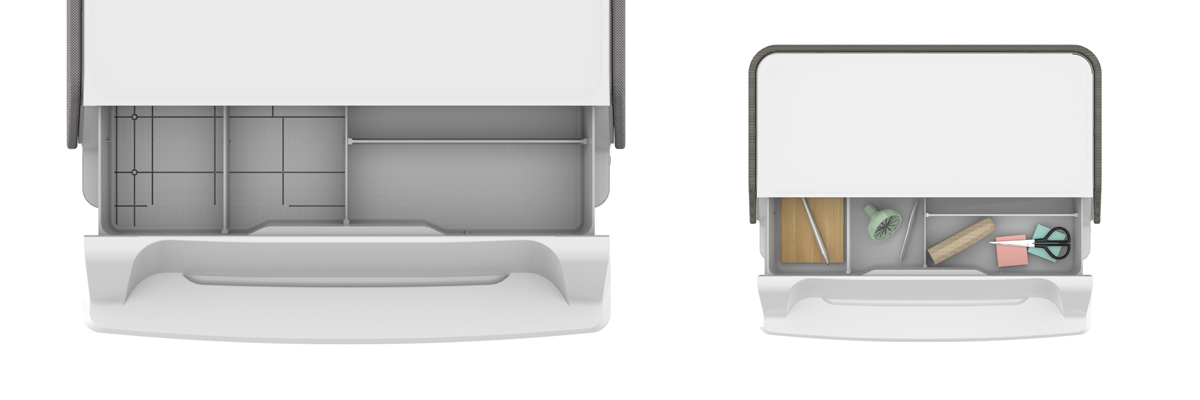 Podstawka pod monitor UV szuflada