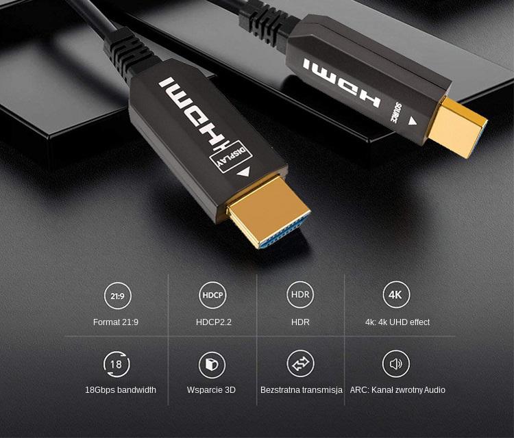 Zalety korzystania z kabli hybrydowych HDMI