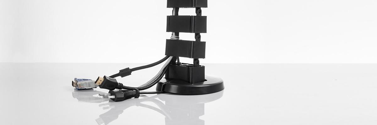 Okablowanie kręgosłup kablowy prowadnica Spacetronik