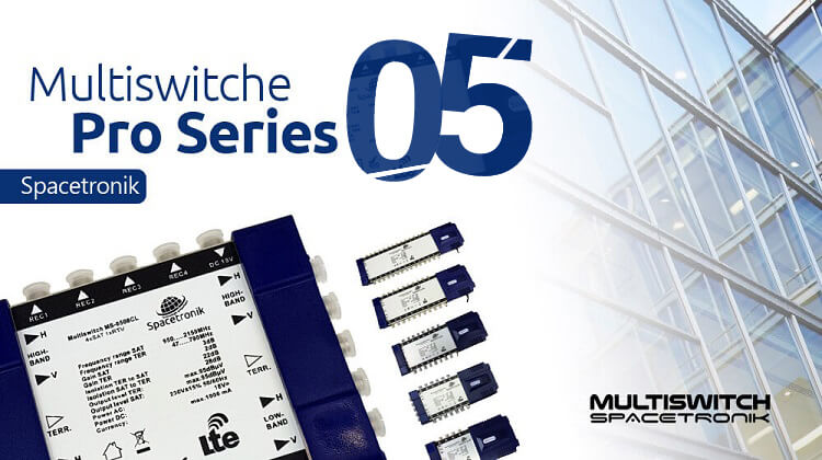 Multiswitche końcowe satelitarne Spacetronik ms-05