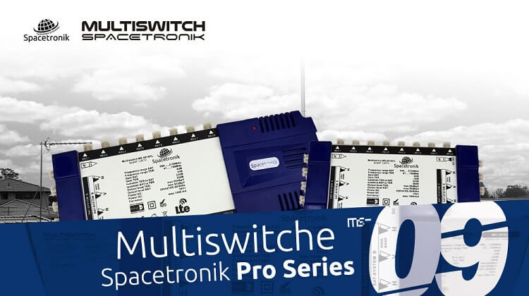 Multiswitche satelitarne Spacetronik ms-09