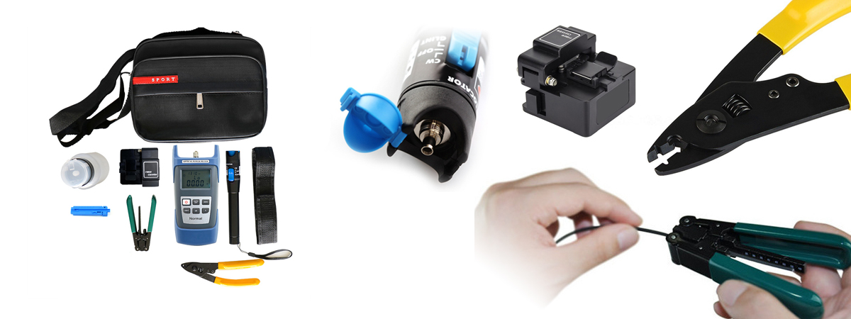 tool kit złącza światłowodowe obróbka narzędzia