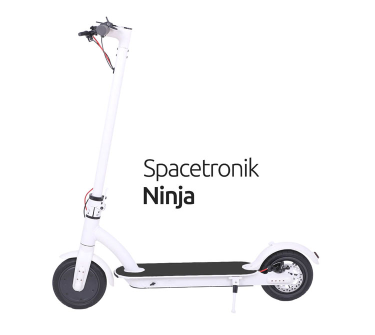 Spacetronik Ninja black