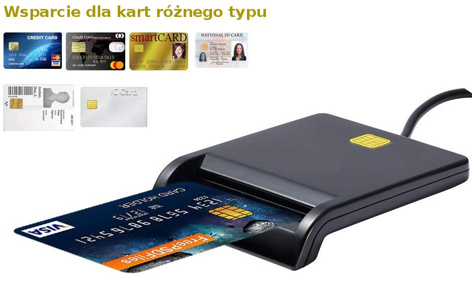 Czytnik kart elektronicznych