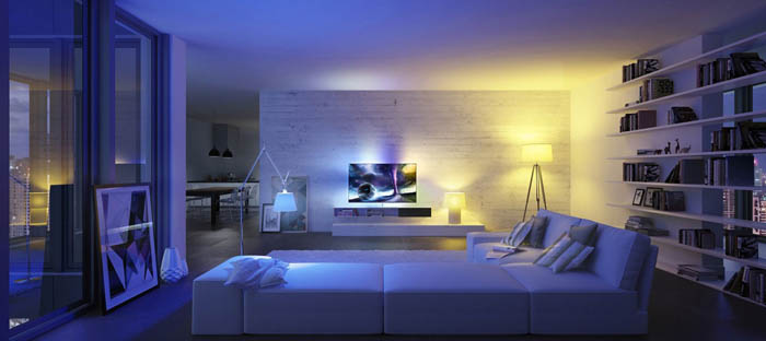 Oświetlenie mieszkania żarówka smart life wifi led