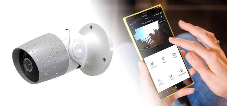 Kamera zewnętrzna Spacetronik Smart Life SL-OC2