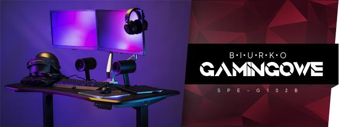 Biurko gamingowe SPE-G102B