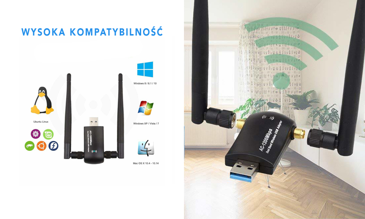 Adapter Wi-fi AC1200