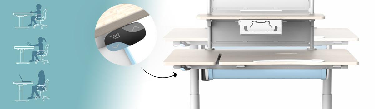 Regulacja wysokości biurko elektryczne Spacetronik XD
